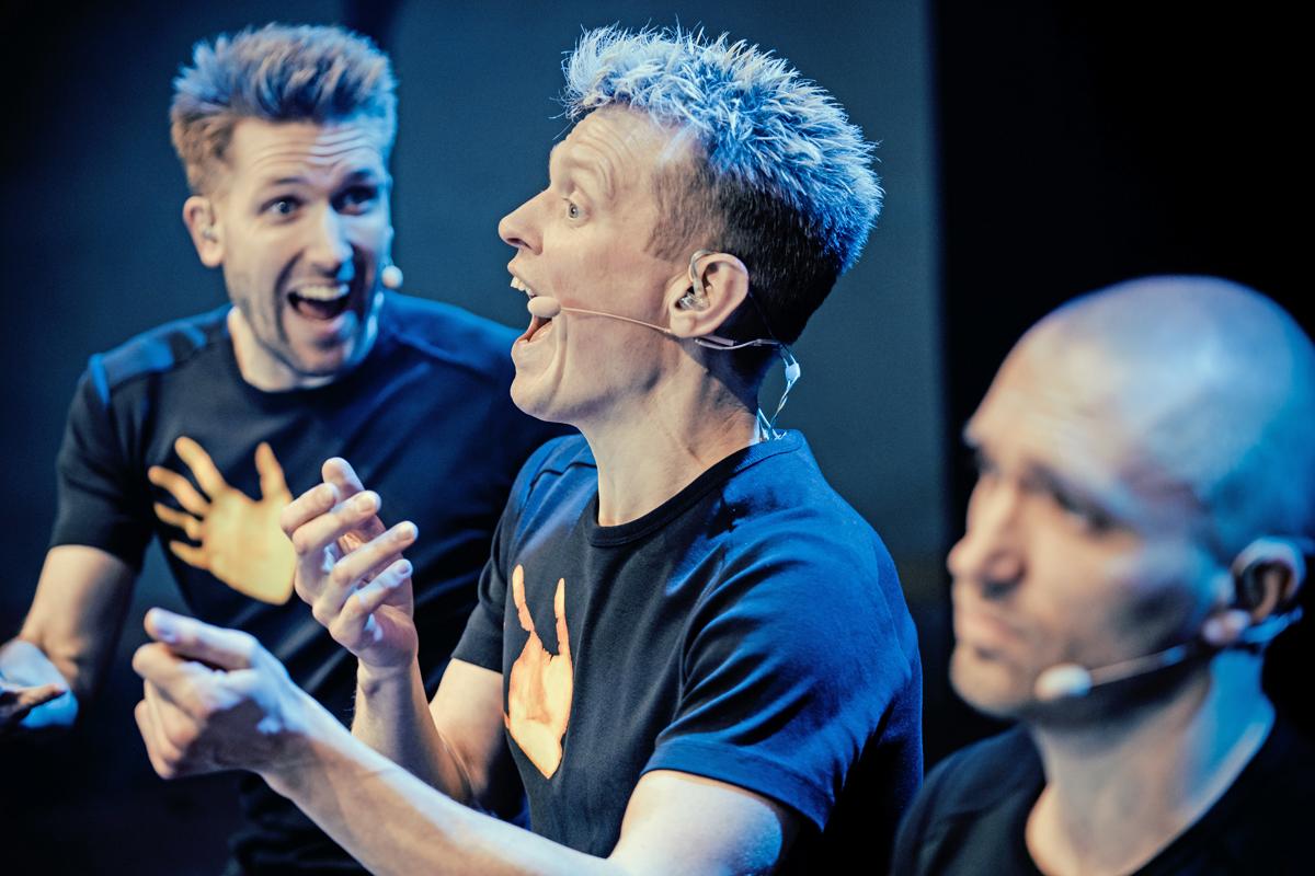 Nils and Morten is having fun