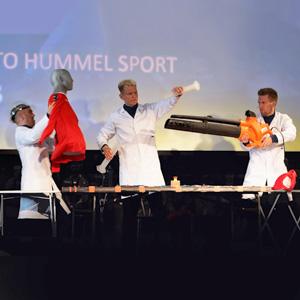 Musik på Hummels nye udstyr